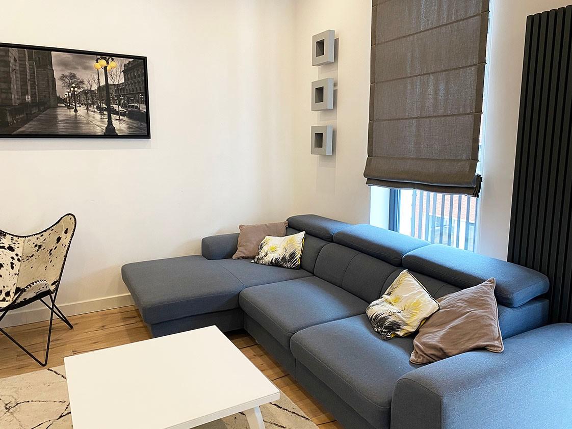 Volledig bemeubeld appartement met 2 slaapkamers & terras in het bruisende Antwerpen! afbeelding 4