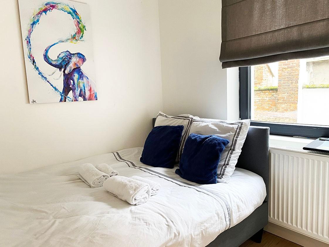 Volledig bemeubeld appartement met 2 slaapkamers & terras in het bruisende Antwerpen! afbeelding 9