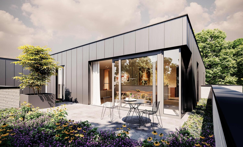 Licht en functioneel appartement (+/-112,39m²) met 2 slaapkamer, noord-georiënteerd terras (+/-6,55m²)! afbeelding 2