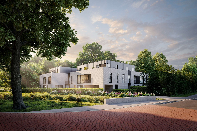 Licht en functioneel appartement (+/-93,25m²) met 1 slaapkamer, zuidwest-georiënteerd terras (+/-9,67m²)! afbeelding 3