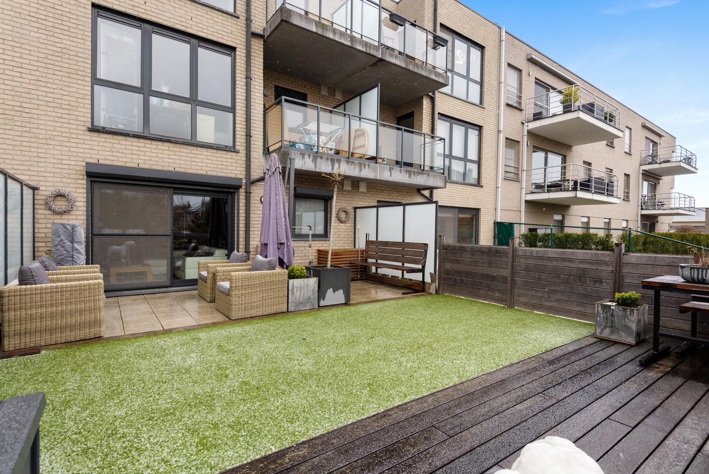 Instapklaar gelijkvloers appartement met 2 slaapkamers en zonnige tuin in centrum Duffel! afbeelding 13