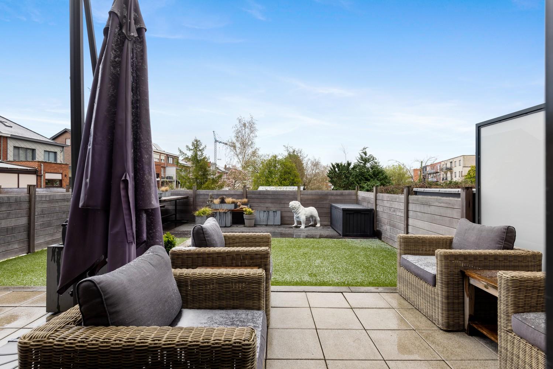 Instapklaar gelijkvloers appartement met 2 slaapkamers en zonnige tuin in centrum Duffel! afbeelding 10