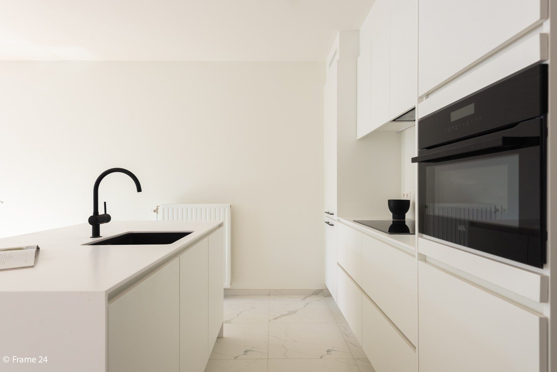 Prachtig gelijkvloers nieuwbouwappartement (± 110 m²) met 3 slaapkamers, zuid-gericht terras & parktuin afbeelding 8