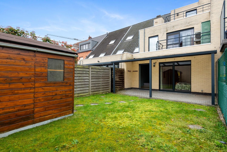 Gezellig, gelijkvloers appartement met tuin en terras in centrum Lint! afbeelding 2