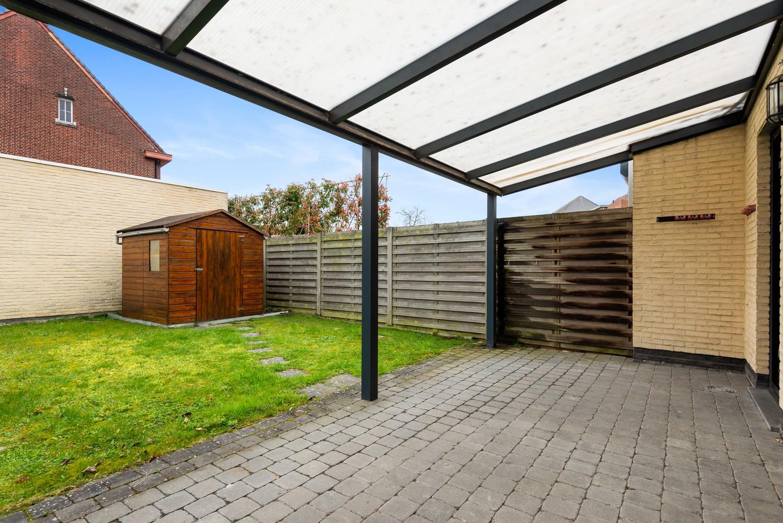 Gezellig, gelijkvloers appartement met tuin en terras in centrum Lint! afbeelding 12