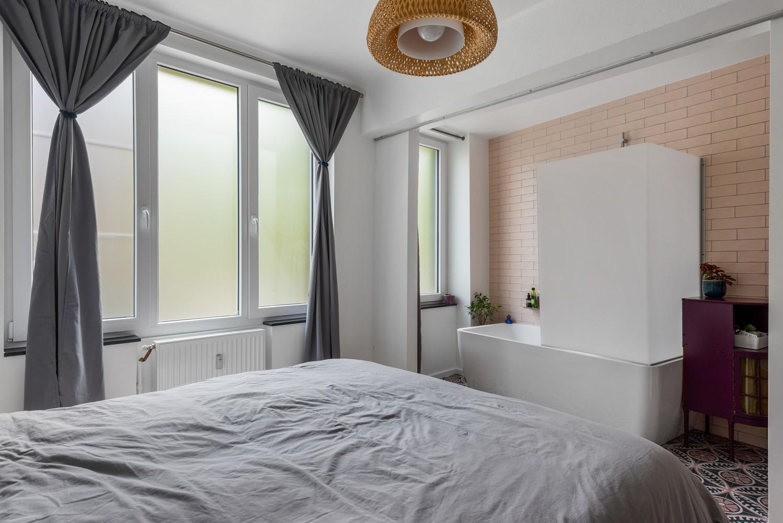 Trendy en volledig gerenoveerd 1-slpk appartement gelegen in de Tentoonstellingswijk! afbeelding 10