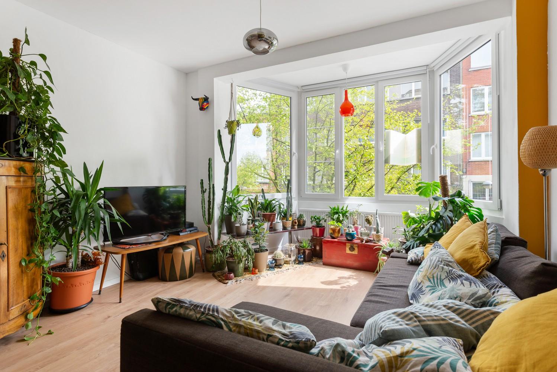Trendy en volledig gerenoveerd 1-slpk appartement gelegen in de Tentoonstellingswijk! afbeelding 3