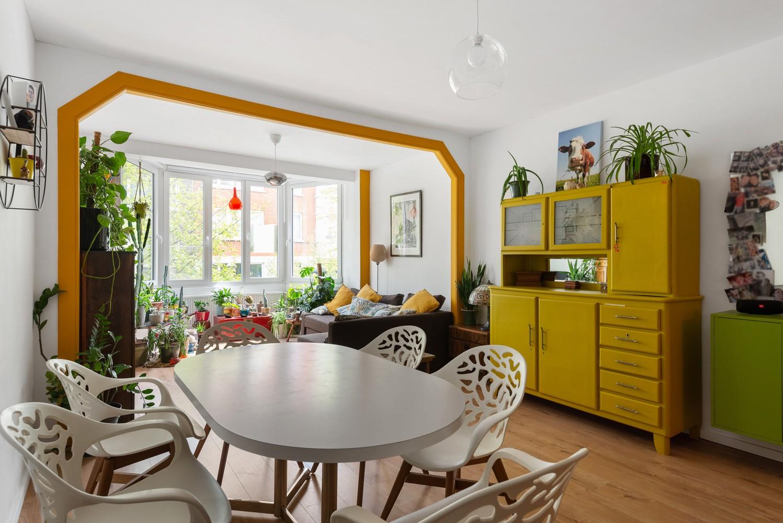 Trendy en volledig gerenoveerd 1-slpk appartement gelegen in de Tentoonstellingswijk! afbeelding 1