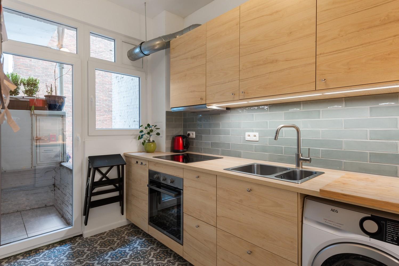 Trendy en volledig gerenoveerd 1-slpk appartement gelegen in de Tentoonstellingswijk! afbeelding 7