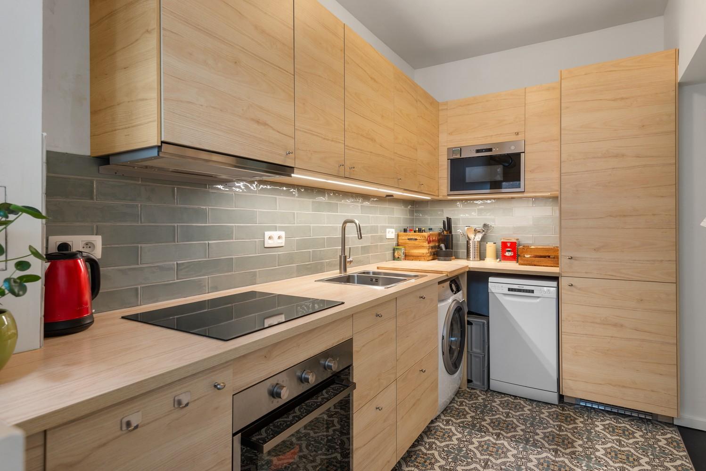 Trendy en volledig gerenoveerd 1-slpk appartement gelegen in de Tentoonstellingswijk! afbeelding 8