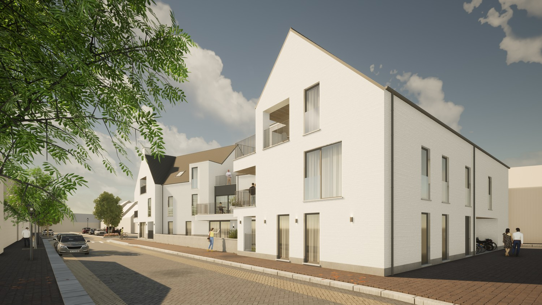 Licht en functioneel appartement (+/-121,10m²) met 2 slaapkamers en een zuidgeoriënteerd terras (+/-10,3m²)! afbeelding 1