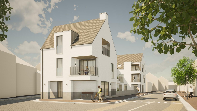 Licht en functioneel appartement (+/-96,80m²) met 2 slaapkamers en een zuidgeoriënteerd terras (+/-32,7m²)! afbeelding 2