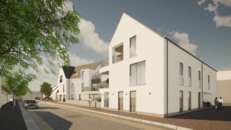 Licht en functioneel appartement (+/-96,80m²) met 2 slaapkamers en een zuidgeoriënteerd terras (+/-32,7m²)! afbeelding 3