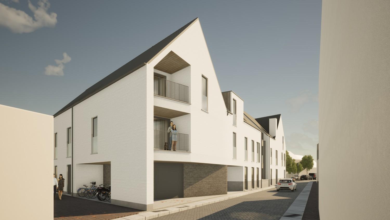Licht en functioneel appartement (+/-96,80m²) met 2 slaapkamers en een zuidgeoriënteerd terras (+/-32,7m²)! afbeelding 4