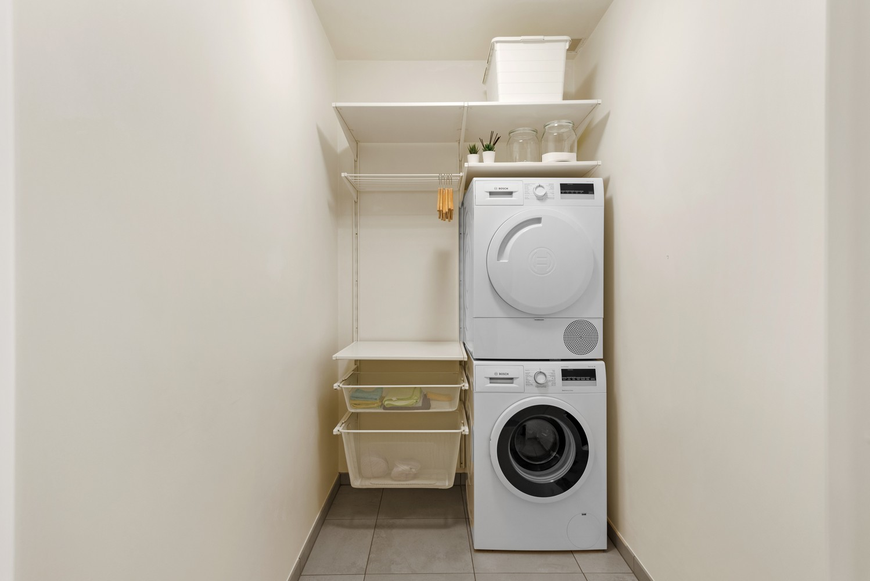 Recent, gelijkvloers appartement met 2 slaapkamers, ruime tuin, garagebox & berging! afbeelding 11