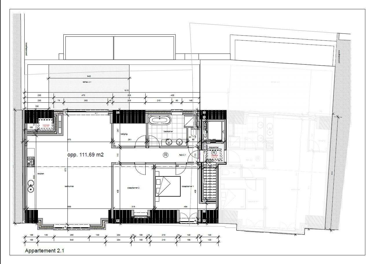 Nieuwbouw appartement in het centrum van Broechem! afbeelding 4
