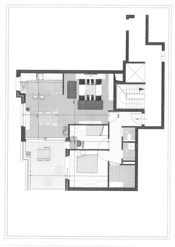 Luxueus appartement op de eerste verdieping op een rustige centrumlocatie te 's Gravenwezel. afbeelding 8