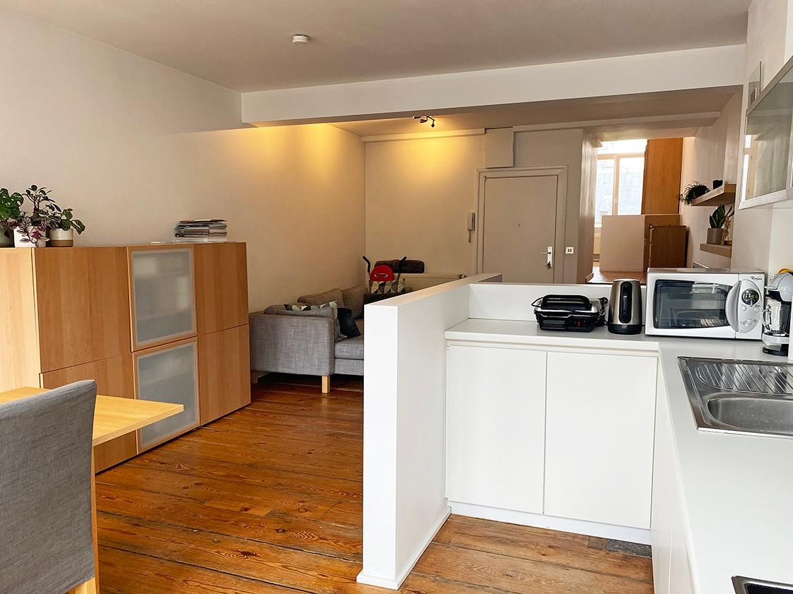 Leuk appartement met 1 slaapkamer in hartje Antwerpen! afbeelding 2