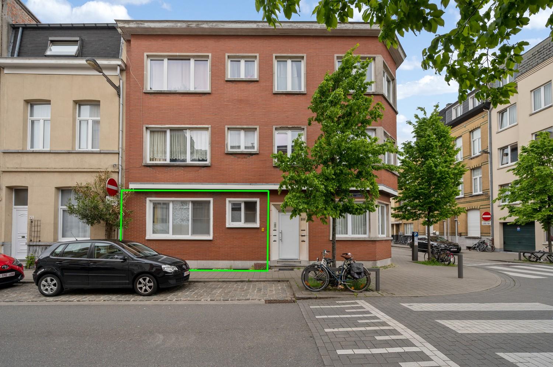 Op te frissen gelijkvloers appartement met één slaapkamer en terras! afbeelding 1