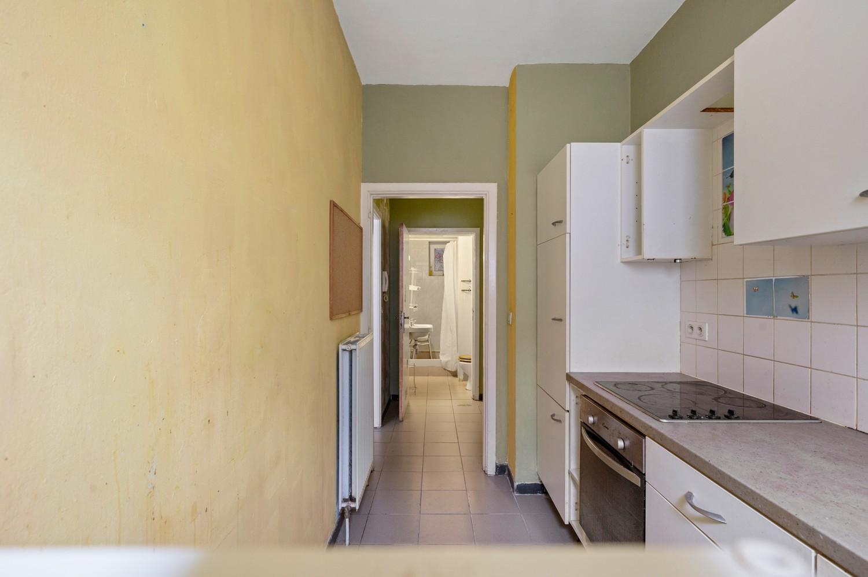 Op te frissen gelijkvloers appartement met één slaapkamer en terras! afbeelding 8
