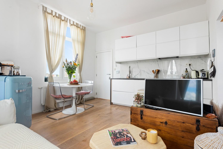 Ideal, knus 1-slpk appartement te Antwerpen, perfect voor starters of als investing! afbeelding 3