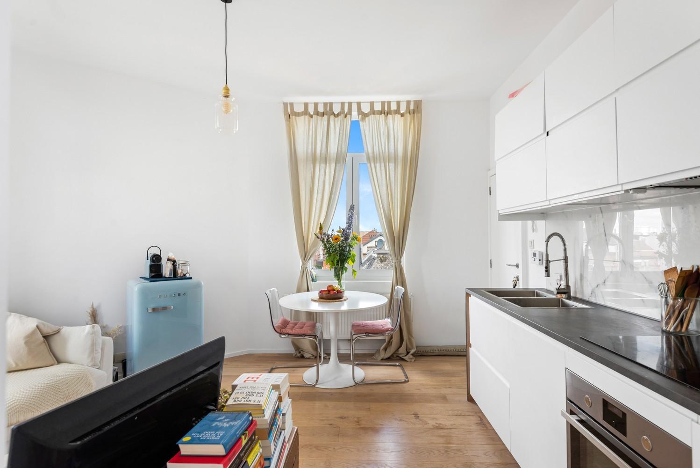 Ideal, knus 1-slpk appartement te Antwerpen, perfect voor starters of als investing! afbeelding 4