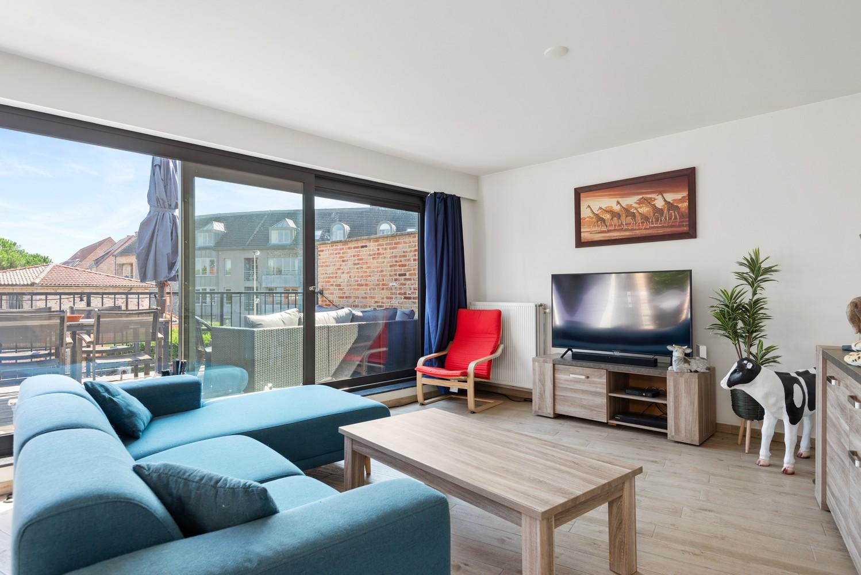 Ruim, recent appartement met 3 slpk & zonnig terras in het centrum van Zandhoven afbeelding 1