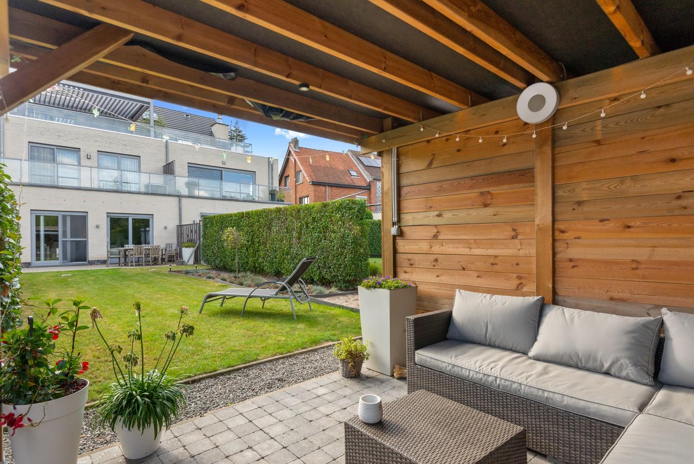 Modern gelijkvloers appartement met leuke tuin, 2 slaapkamers en autostaanplaats in Wommelgem! afbeelding 18