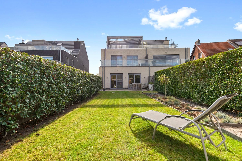 Modern gelijkvloers appartement met leuke tuin, 2 slaapkamers en autostaanplaats in Wommelgem! afbeelding 1
