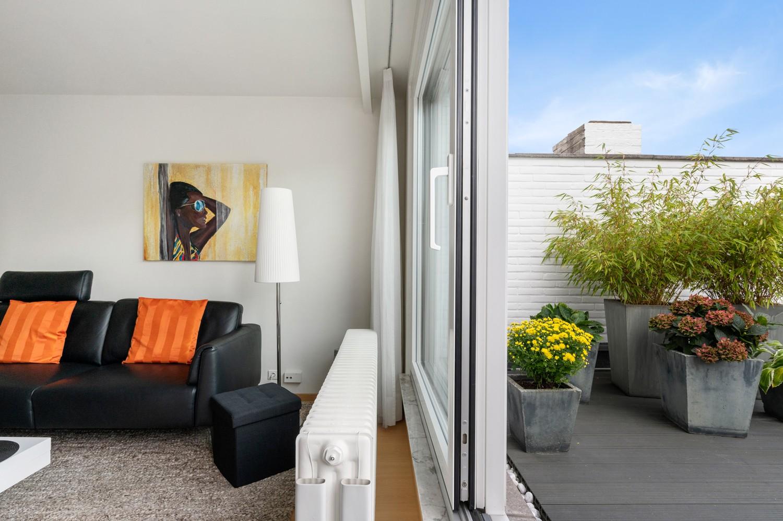 Mooi, lichtrijk dakappartement met 1 slaapkamer en ruim terras in Deurne afbeelding 5