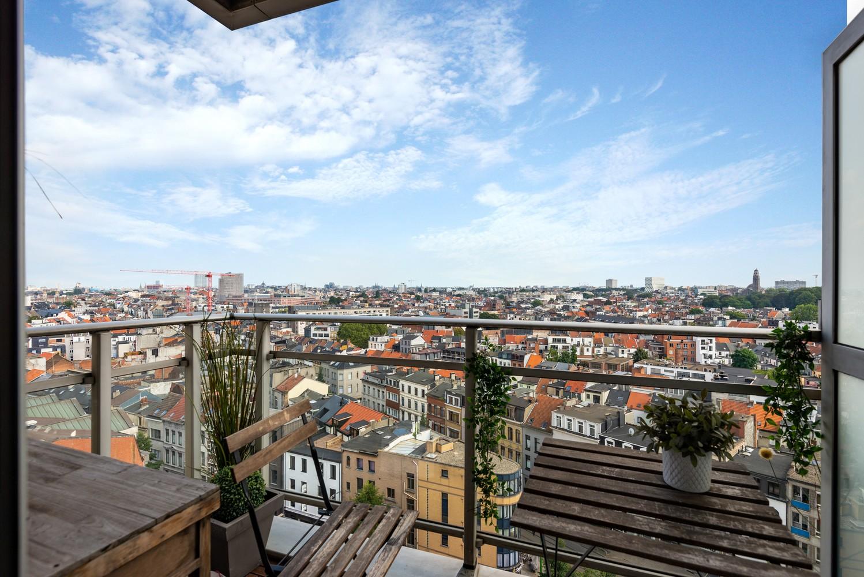 Leuk één-slaapkamerappartement met indrukwekkend uitzicht over Antwerpen! afbeelding 3