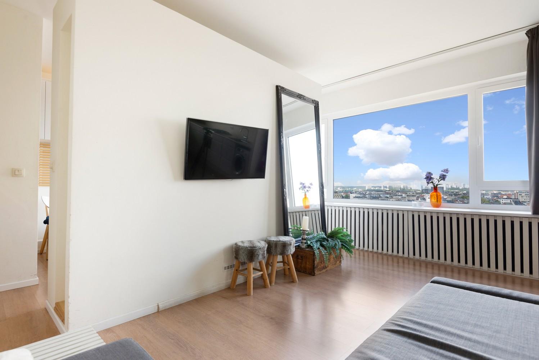 Leuk één-slaapkamerappartement met indrukwekkend uitzicht over Antwerpen! afbeelding 7