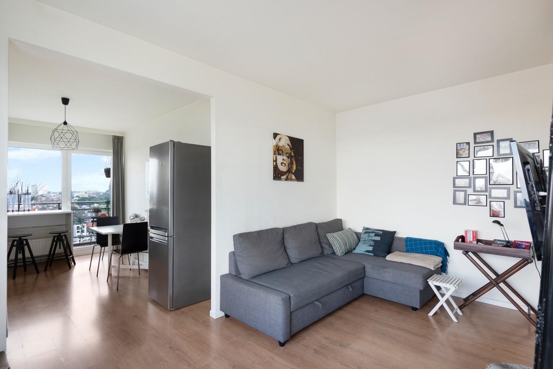 Leuk één-slaapkamerappartement met indrukwekkend uitzicht over Antwerpen! afbeelding 4
