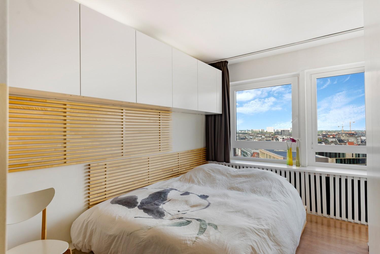 Leuk één-slaapkamerappartement met indrukwekkend uitzicht over Antwerpen! afbeelding 8