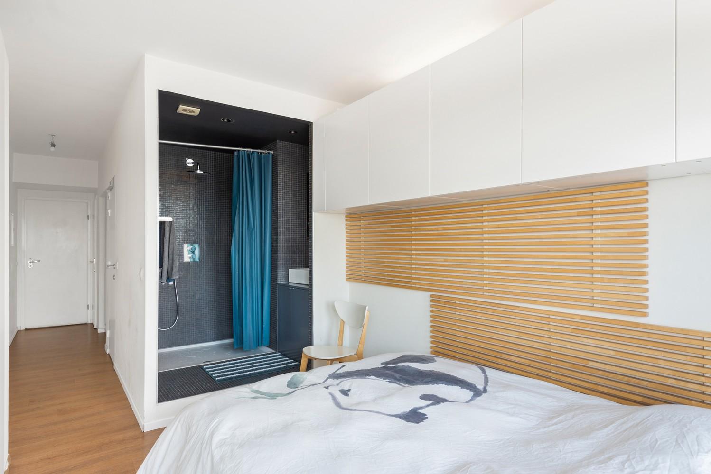 Leuk één-slaapkamerappartement met indrukwekkend uitzicht over Antwerpen! afbeelding 9