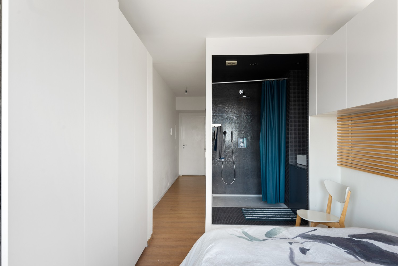 Leuk één-slaapkamerappartement met indrukwekkend uitzicht over Antwerpen! afbeelding 10