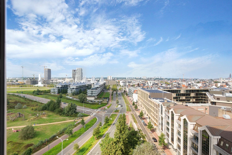 Leuk één-slaapkamerappartement met indrukwekkend uitzicht over Antwerpen! afbeelding 12