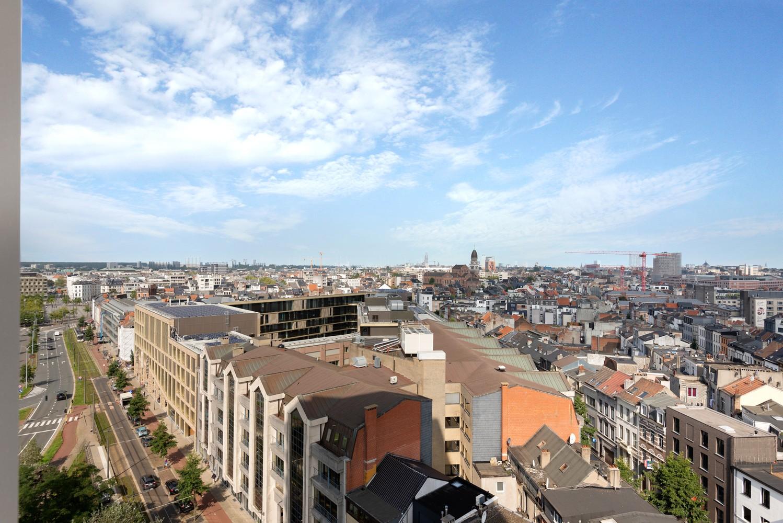 Leuk één-slaapkamerappartement met indrukwekkend uitzicht over Antwerpen! afbeelding 14